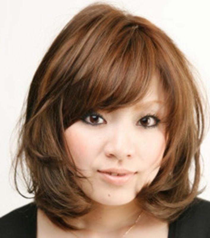 The 25+ Best Korean Hairstyles Ideas On Pinterest | Korean Hair For Korean Hairstyles With Bangs (View 19 of 20)