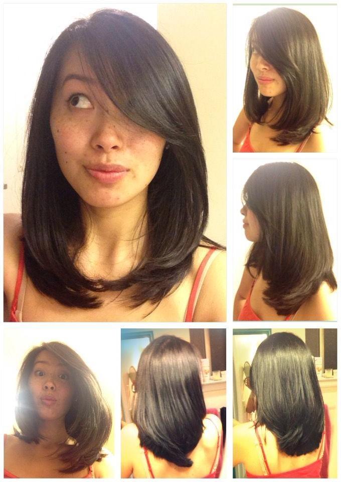 The 25+ Best Medium Asian Hair Ideas On Pinterest | Korean Medium In Medium Asian Hairstyles (View 19 of 20)