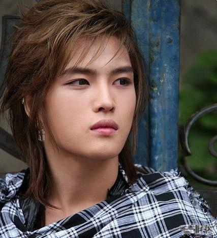 Top Shag Haircuts And Styles: Hot Asian Guys Hairstyle  Kim Jae Throughout Hot Asian Hairstyles (View 20 of 20)