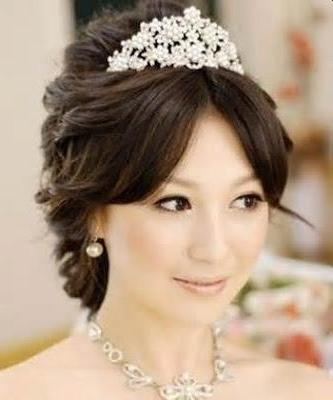 Wedding Hairstyles | Haircuts For Brides: Korean Bridal Wedding With Regard To Korean Hairstyles For Wedding (View 15 of 20)