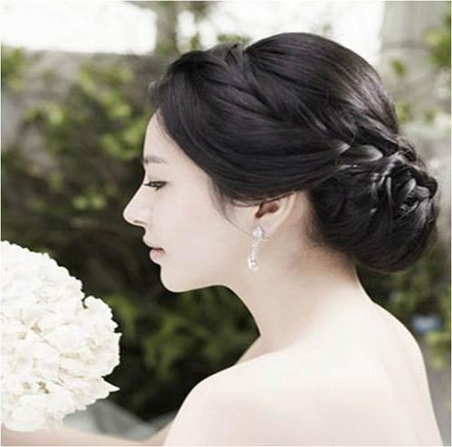 Wedding Hairstyles Korean Simple – Fashion Female Inside Asian Hairstyles For Wedding (View 20 of 20)