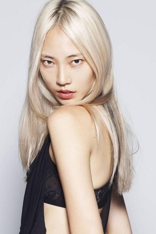 What The Cool Kids Are Wearing: Hair Color Edition | Blondes, Girl Within Blonde Asian Hairstyles (View 20 of 20)