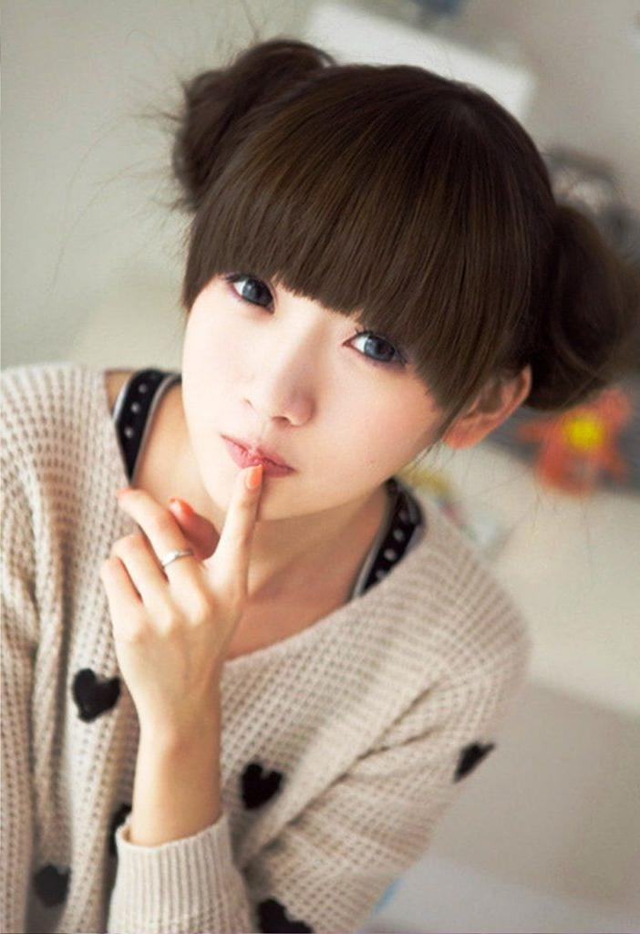 Women Hairstyle : Cute Short Asian Hairstyles Images About Hair In Cute Short Asian Hairstyles (View 20 of 20)