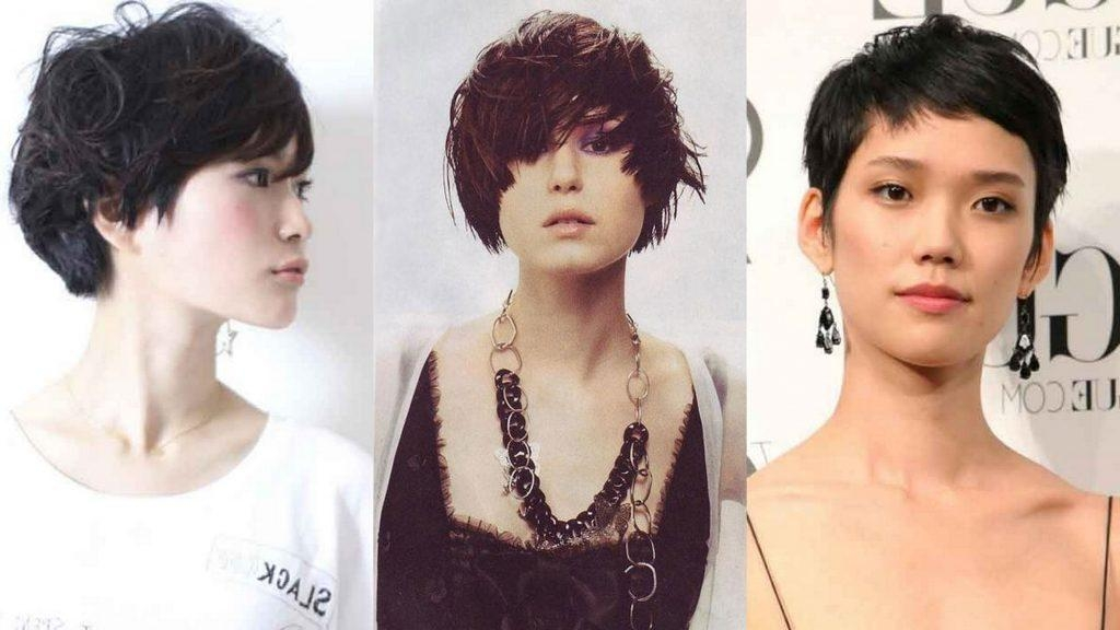 Women Hairstyle : Hairstyles For Asian Faces Best Short Women Within Easy Korean Hairstyles (View 20 of 20)