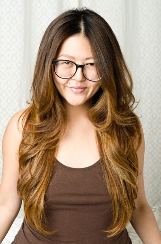 Women Hairstyle : Long Asian Hairstyles Awesome Ideas With Trend In Long Asian Hairstyles (View 18 of 20)
