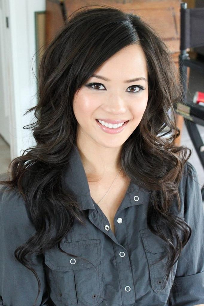 Women Hairstyle : Long Asian Hairstyles Images About Wedding Hair Regarding Long Asian Hairstyles (View 20 of 20)