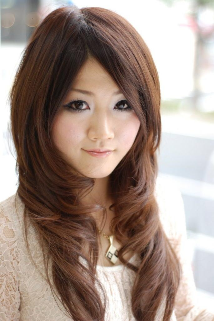 Women Hairstyle : Long Layered Asian Hairstyles Inspiration Women Inside Long Layered Asian Hairstyles (View 20 of 20)