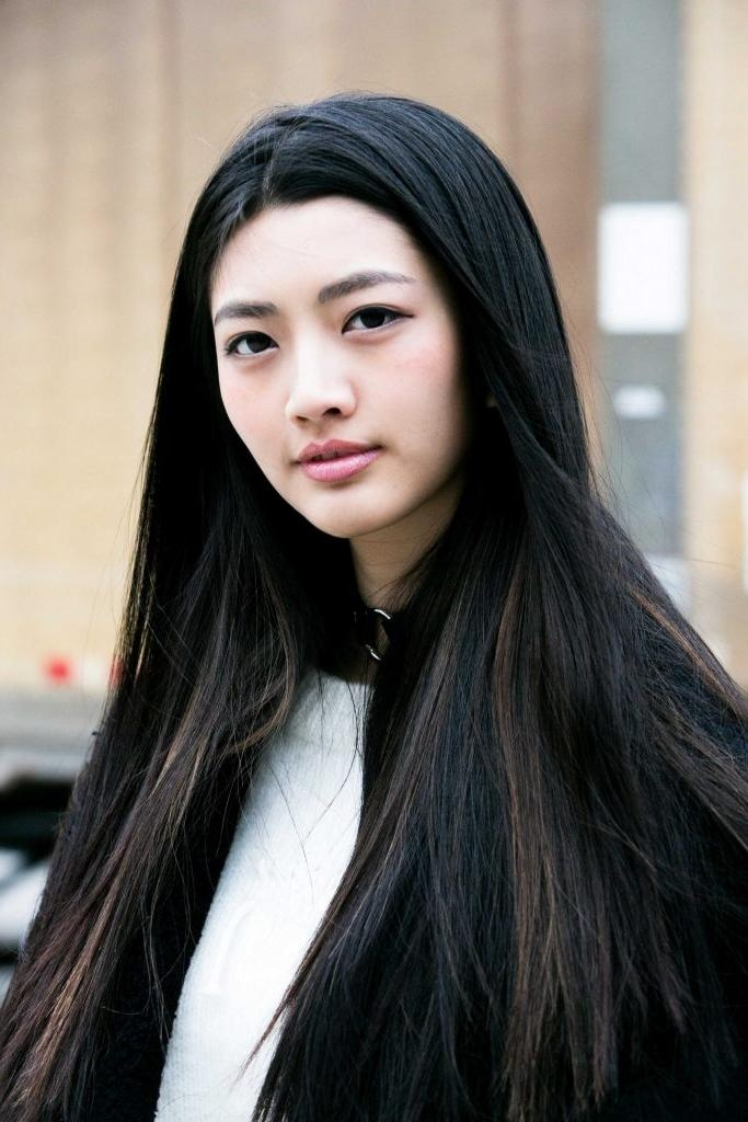 Women Hairstyle : Long Straight Asian Hairstyles Best Hairstyle Throughout Long Straight Asian Hairstyles (View 20 of 20)