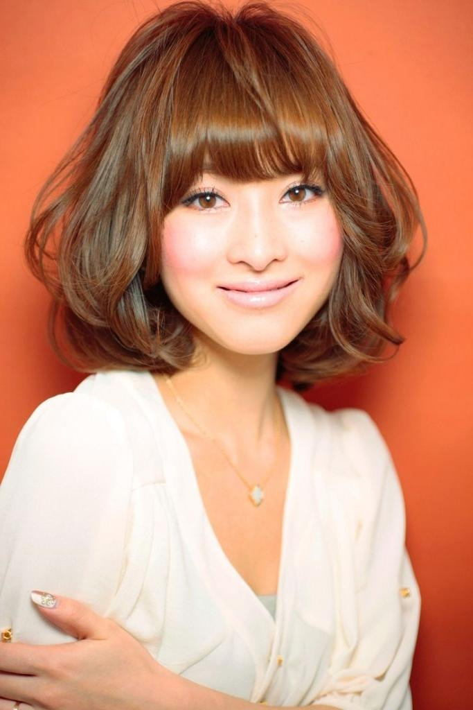 Women Hairstyle : Medium Asian Hairstyles Hair Men And Women In Medium Asian Haircuts (View 8 of 20)