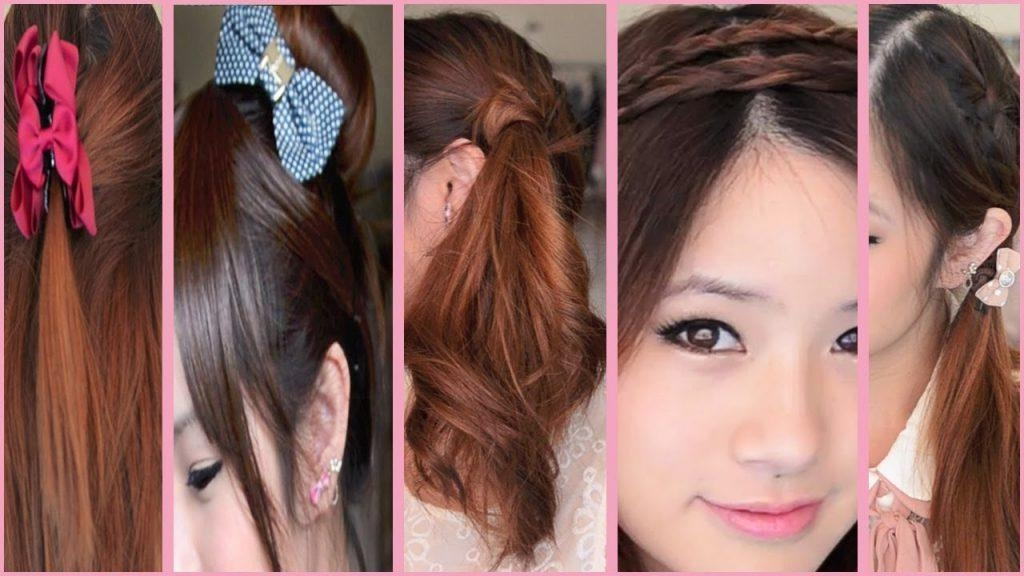 Women Hairstyle : Simple Asian Hairstyles Images About Hair Styles For Simple Asian Hairstyles (View 18 of 20)