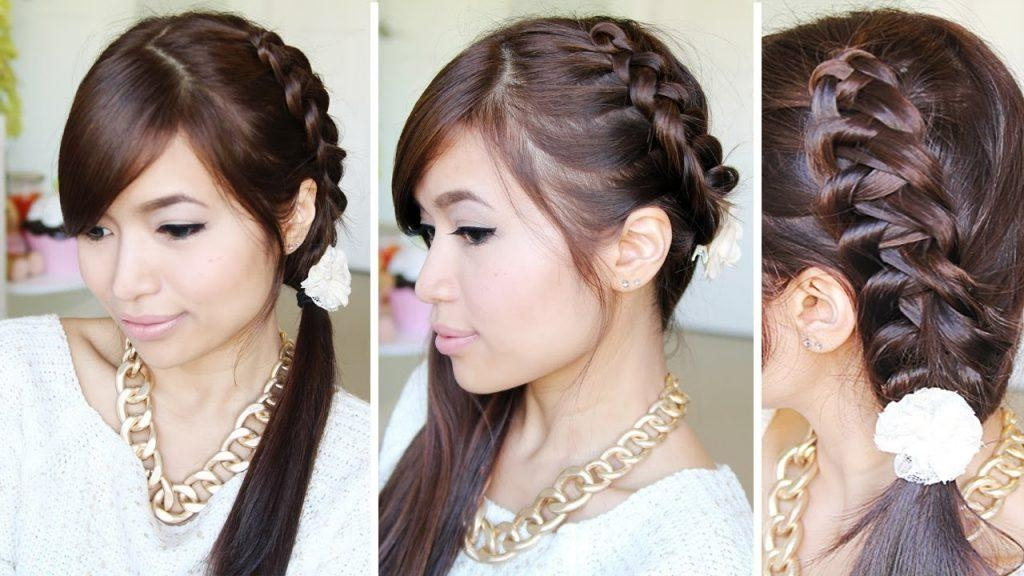 Women Hairstyle : Simple Asian Hairstyles Images About Hair Styles With Simple Asian Hairstyles (View 19 of 20)