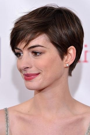 10 Most Adorable Celebrities Pixie Haircuts » Celebrity Fashion In Most Recently Released Famous Pixie Haircuts (View 9 of 20)