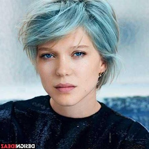 10 New Blue Pixie Cut With Regard To Well Known Soft Pixie Haircuts (View 3 of 20)