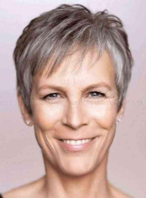 10+ Short Pixie Haircuts For Gray Hair (View 4 of 20)