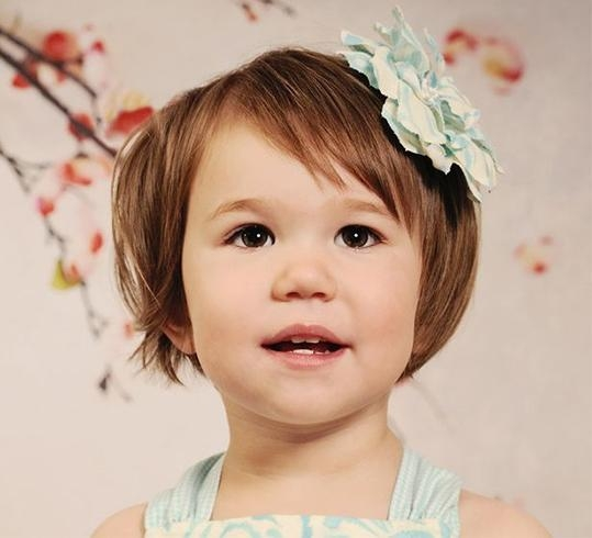 13 Adorable Toddler Girl Haircuts And Hairstyles – Victoria's Glamour Inside 2018 Toddler Pixie Haircuts (View 1 of 20)