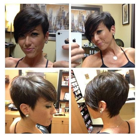 15 Adorable Short Haircuts For Women – The Chic Pixie Cuts Regarding Best And Newest Chic Pixie Haircuts (View 1 of 20)