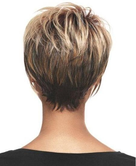 15 Chic Short Haircuts: Most Stylish Short Hair Styles Ideas Regarding Most Up To Date Short Layered Pixie Haircuts (View 14 of 20)