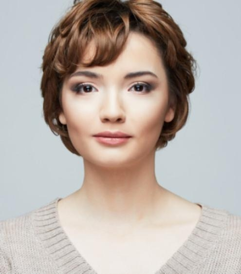 15 Different Pixie Haircuts With Bangs Pertaining To Popular Cute Pixie Haircuts For Round Faces (View 1 of 20)