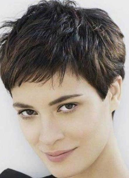 Photo Gallery Of Choppy Pixie Haircuts Viewing 11 Of 20 Photos