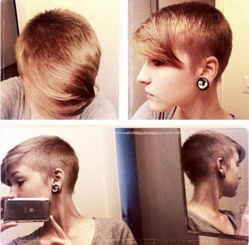15 Nice Shaved Pixie Cuts (View 1 of 20)