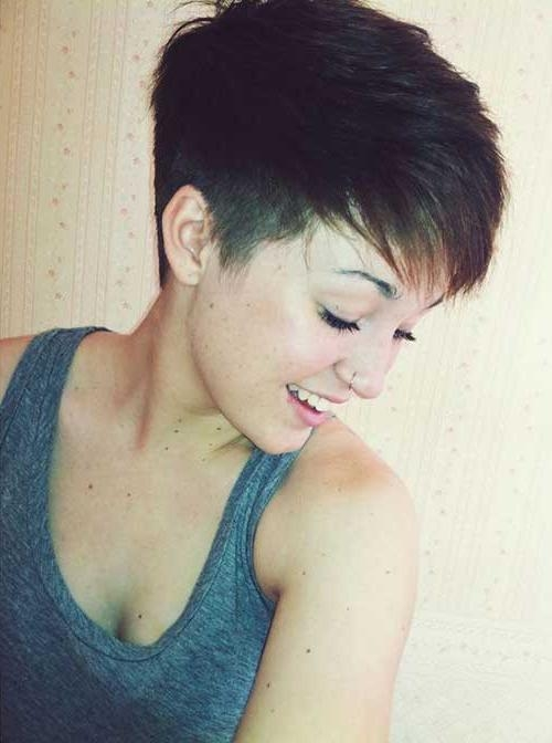 15 Pixie Cuts For Thick Hair (View 3 of 20)