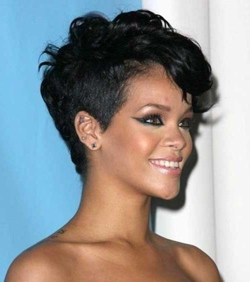 15 Pixie Haircut For Black Women Pixie Cut 2015 Black Pixie Cuts Within Widely Used Black Pixie Haircuts (View 2 of 20)