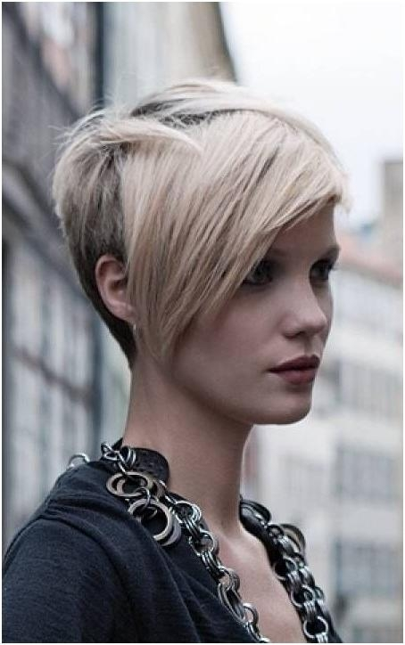 16 Cute Hairstyles For Short Hair – Popular Haircuts Inside Most Popular Pixie Haircuts With Long Fringe (View 2 of 20)