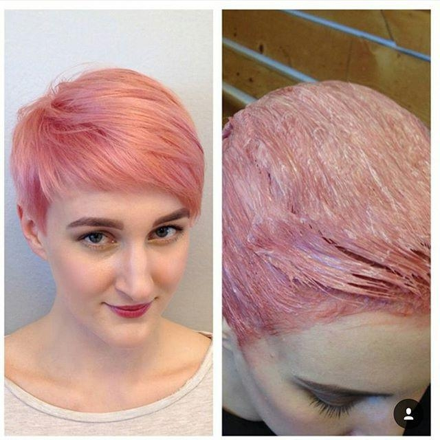 18 Simple Easy Short Pixie Cuts For Oval Faces – Short Haircuts 2018 Intended For Best And Newest Pink Pixie Haircuts (View 5 of 20)