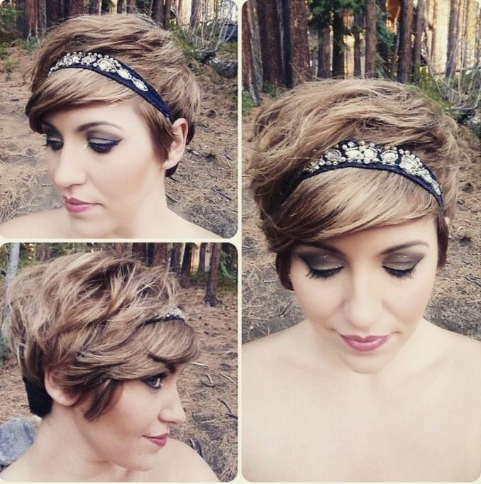 19 Cute Wavy & Curly Pixie Cuts We Love – Pixie Haircuts For Short Pertaining To Preferred Pixie Haircuts With Headband (View 2 of 20)