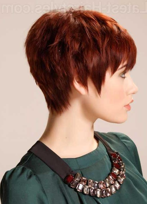 20 Best Red Pixie Hair (View 14 of 20)