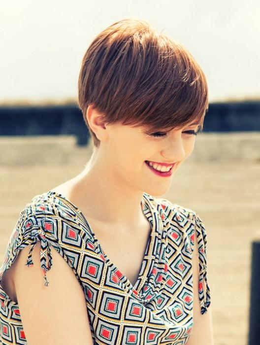 20 Chic Pixie Haircuts For Short Hair – Popular Haircuts For 2017 Cute Pixie Haircuts With Bangs (View 2 of 20)
