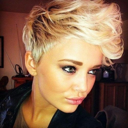 20 Chic Pixie Haircuts Ideas – Popular Haircuts Inside Most Current Pixie Haircuts With Long On Top (View 5 of 20)