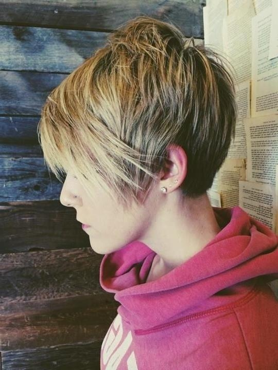 20 Chic Pixie Haircuts Ideas – Popular Haircuts Inside Trendy Long To Short Pixie Haircuts (View 18 of 20)