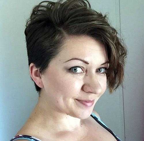 20 Cool Stylish Curly/wavy Pixie Cuts For Short Hair – Tricks Mag Inside Favorite Wavy Pixie Haircuts (View 2 of 20)