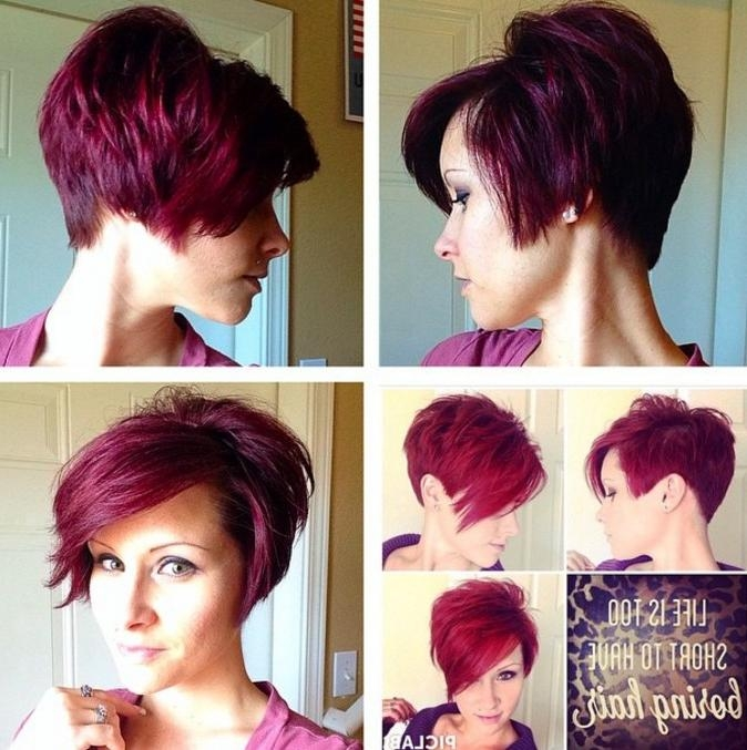 20 Fabulous Long Pixie Haircuts – Nothing But Pixie Cuts! – Pretty Inside Most Up To Date Short Stacked Pixie Haircuts (View 1 of 20)