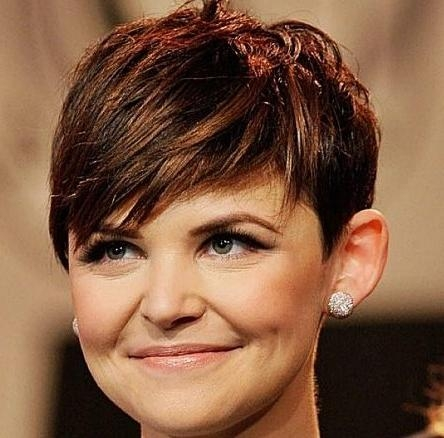 20 Gorgeous Looks With Pixie Cut For Round Face Pertaining To Well Known Pixie Haircuts For Round Face Shape (View 20 of 20)