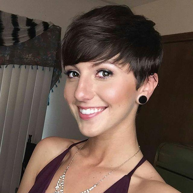 20 Gorgeous Short Pixie Haircut With Bangs – Short Haircuts For With Preferred Pixie Haircuts With Bangs (View 2 of 20)