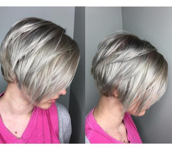 20 Hottest Short Stacked Haircuts – The Full Stack You Should Not With Newest Short Stacked Pixie Haircuts (View 2 of 20)