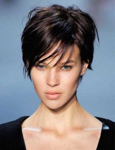 20 Naturally Beautiful Hairstyles For Short Hair – Popular Haircuts Regarding Fashionable Short Feathered Pixie Haircuts (View 2 of 20)