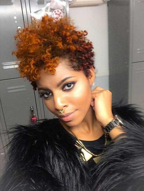 20 Pixie Cut For Black Women (View 14 of 20)