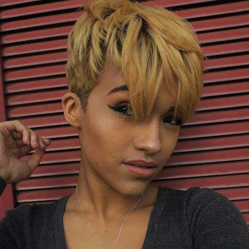 20 Pixie Cut For Black Women (View 12 of 20)