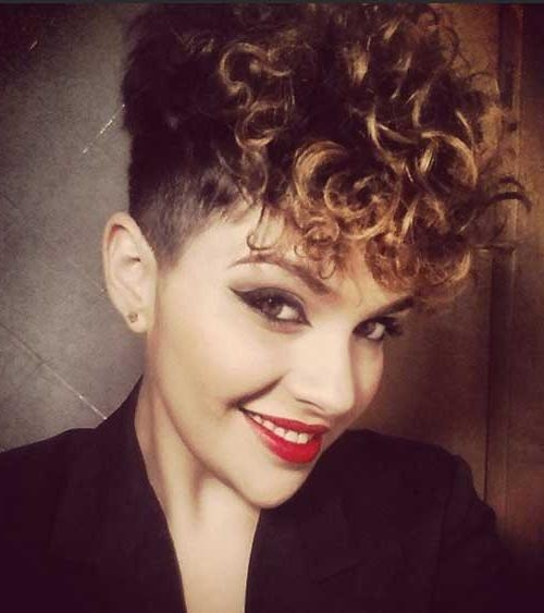 20+ Pixie Cuts For Curly Hair (View 1 of 20)