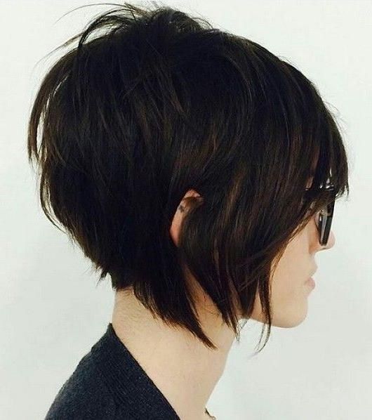 20 Sexy Stacked Haircuts For Short Hair: You Can Easily Copy Intended For Well Known Pixie Haircuts With Stacked Back (View 1 of 20)