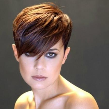 20 Short Pixie Haircuts Within Most Recently Released Short Asymmetrical Pixie Haircuts (View 1 of 20)