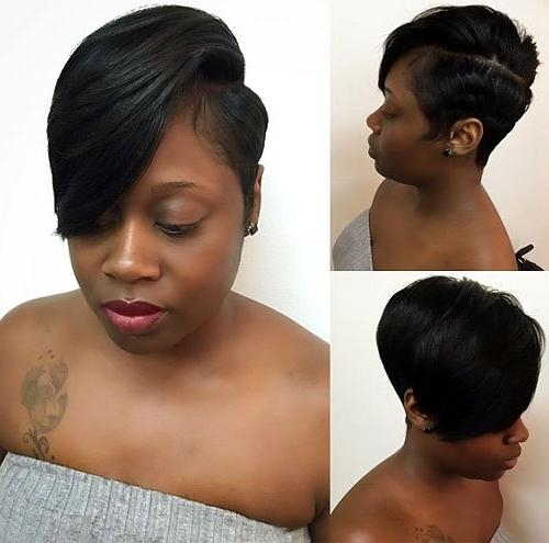 20 Trendy African American Pixie Cuts 2017 – Pixie Cuts For Black With Recent Black Women Pixie Haircuts (View 8 of 20)