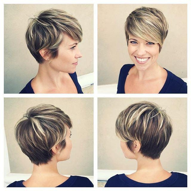 Featured Photo of Pixie Haircuts With Highlights
