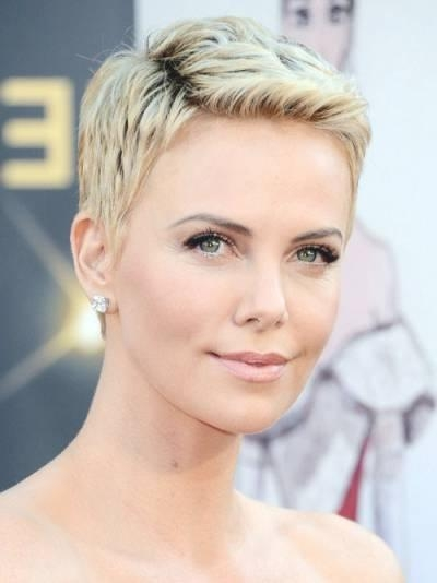 2016 Pixie Haircut Celebrity Pixie Haircuts For  (View 3 of 20)
