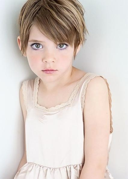 Photo Gallery Of Little Girl Pixie Haircuts Viewing 7 Of 20 Photos