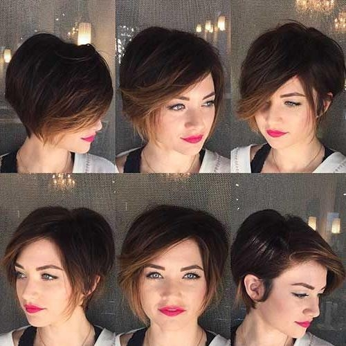 2017 Bob To Pixie Haircuts With Regard To Best 25+ Pixie Bob Hairstyles Ideas On Pinterest (View 2 of 20)