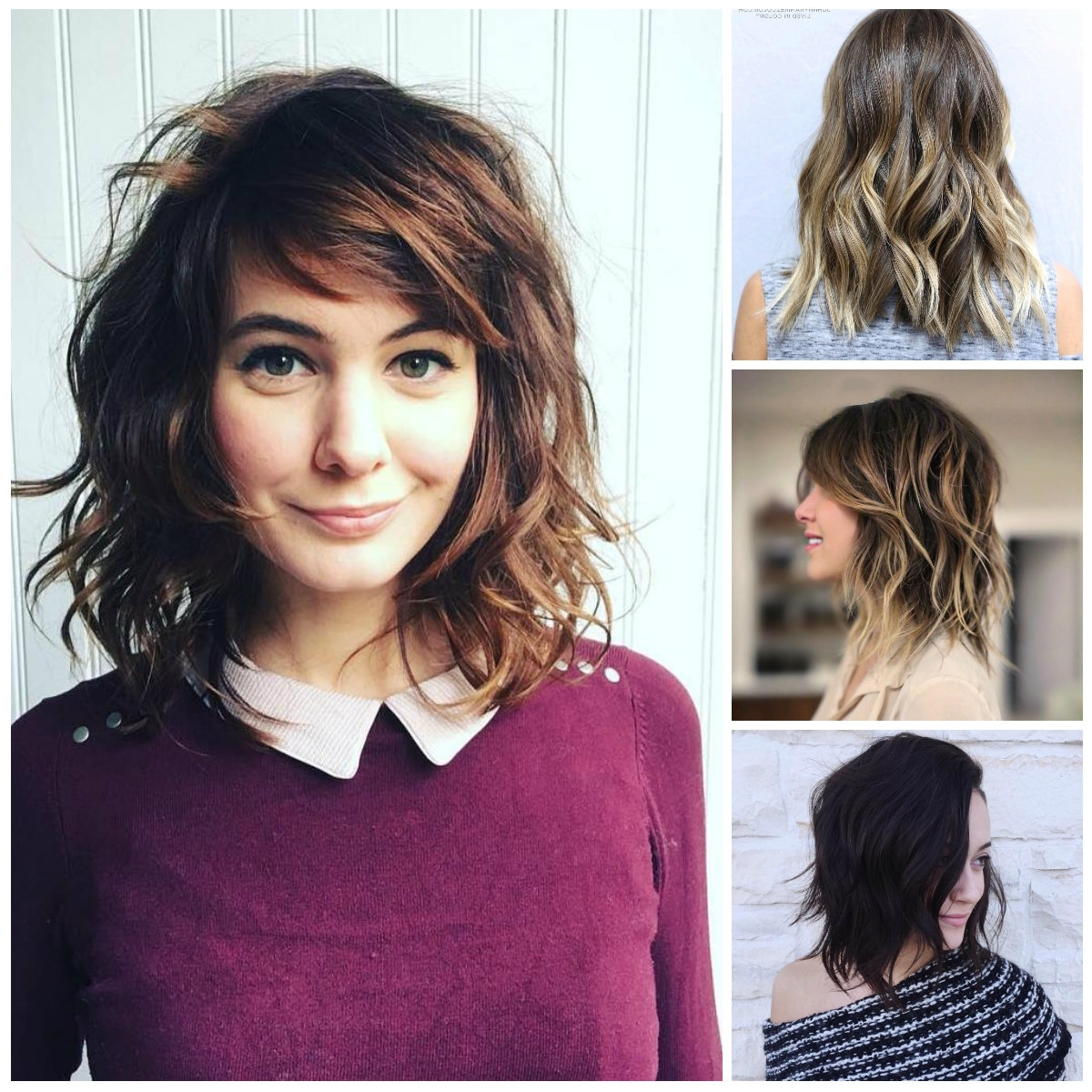 2017 Haircuts, Hairstyles And Inside Fashionable Medium Shaggy Curly Hairstyles (View 1 of 15)